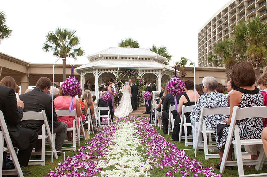The san luis resort spa conference center a fertitta for Texas beach wedding packages