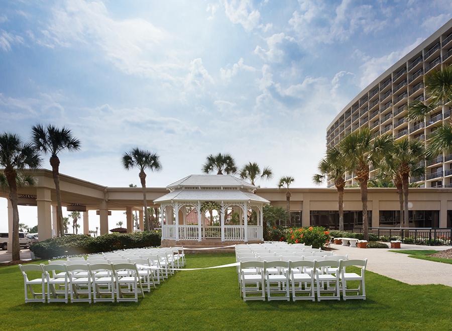 weddings the san luis resort. Black Bedroom Furniture Sets. Home Design Ideas
