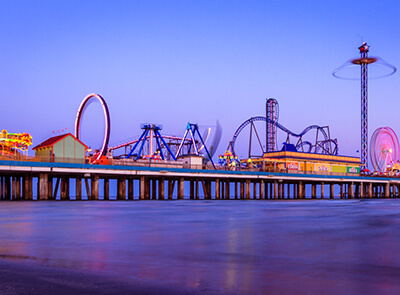 Galveston Island's historic Pleasure Pier